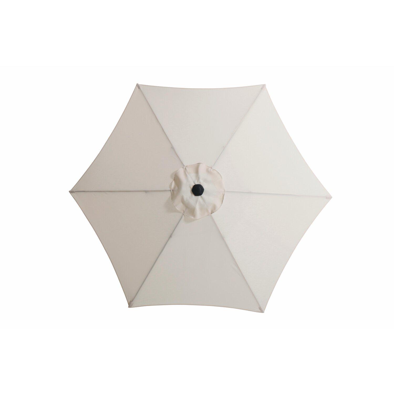 cmi sonnenschirm rund natur 270 cm kaufen bei obi. Black Bedroom Furniture Sets. Home Design Ideas