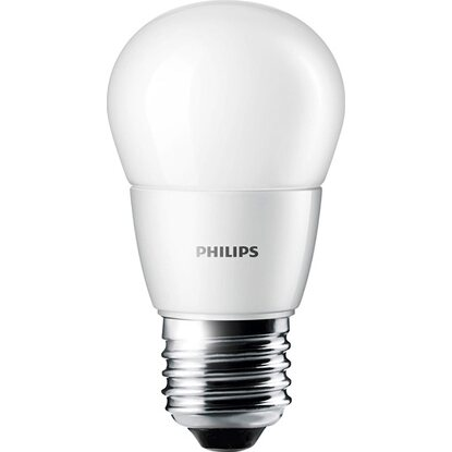 Philips LED-Lampe EEK: A+ Tropfenform E27 / 3 W (250 lm) Warmweiss