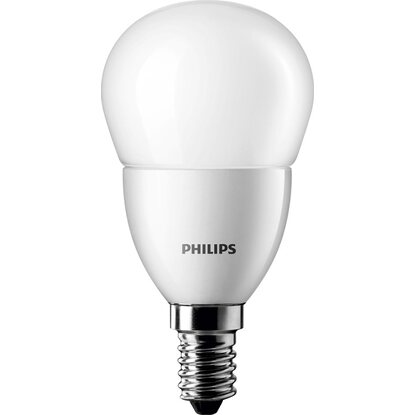 Philips LED-Lampe EEK: A+ Tropfenform E14 / 3 W (250 lm) Warmweiss