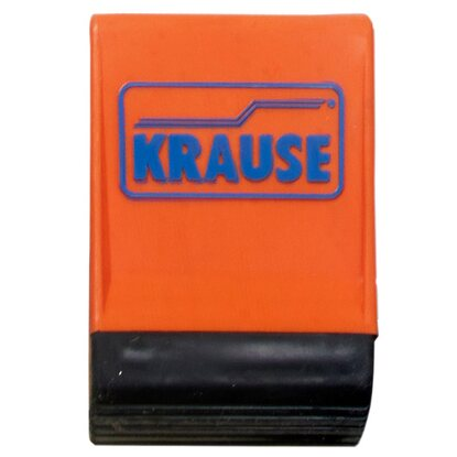 Krause Traversen-Fusskappen Orange 64 mm x 25 mm