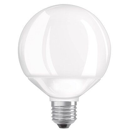 Osram LED-Lampe EEK: A+ Globeform E27 / 9 W (806 lm) Warmweiss