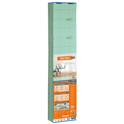 Selitac Parkett- /Laminatunterlage 3 mm 10,63 m²