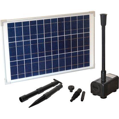 heissner solar teichpumpen set 1000 l h 0 00028 m s. Black Bedroom Furniture Sets. Home Design Ideas