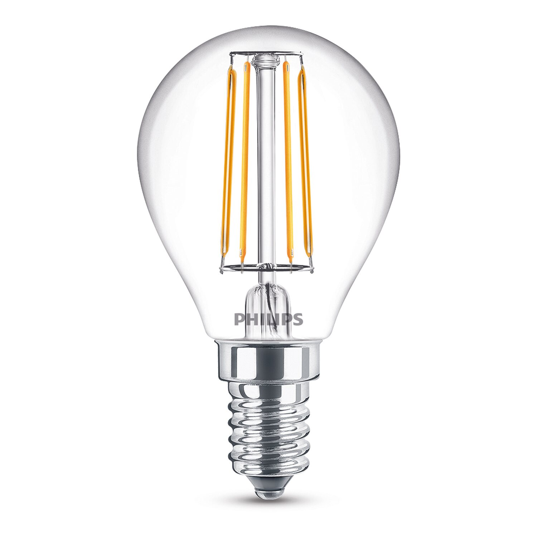 philips led leuchtmittel eek a e14 tropfen 4 w 470 lm. Black Bedroom Furniture Sets. Home Design Ideas