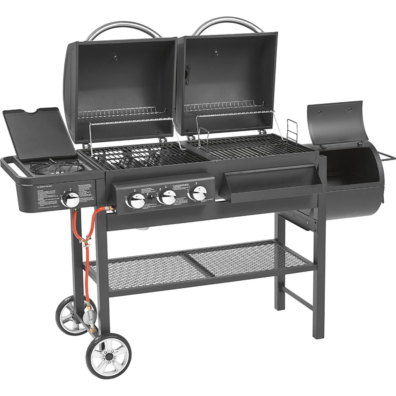 jamestown gas und holzkohle grillstation dean kaufen bei obi. Black Bedroom Furniture Sets. Home Design Ideas