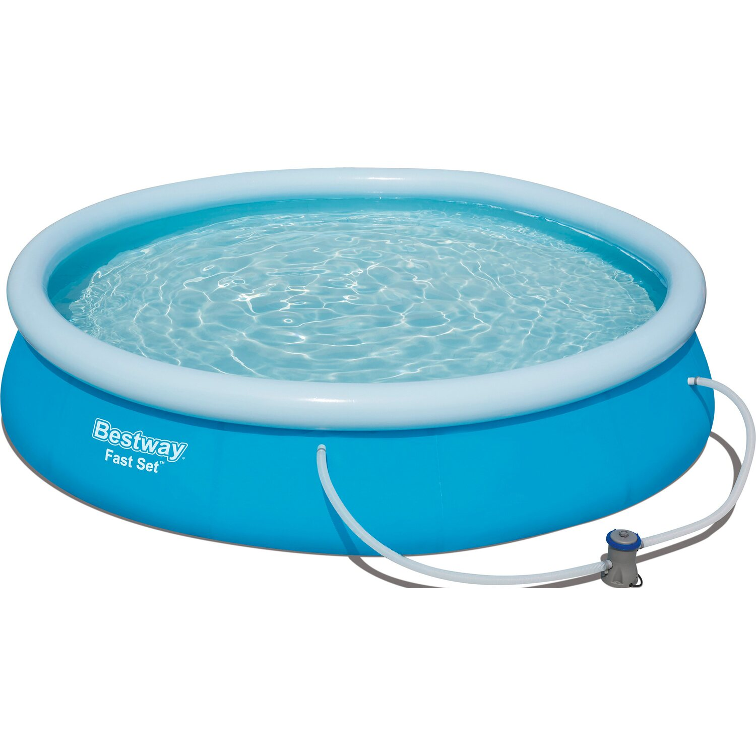 Bestway fast set pool 366 cm x 76 cm kaufen bei obi for Bestway pool obi