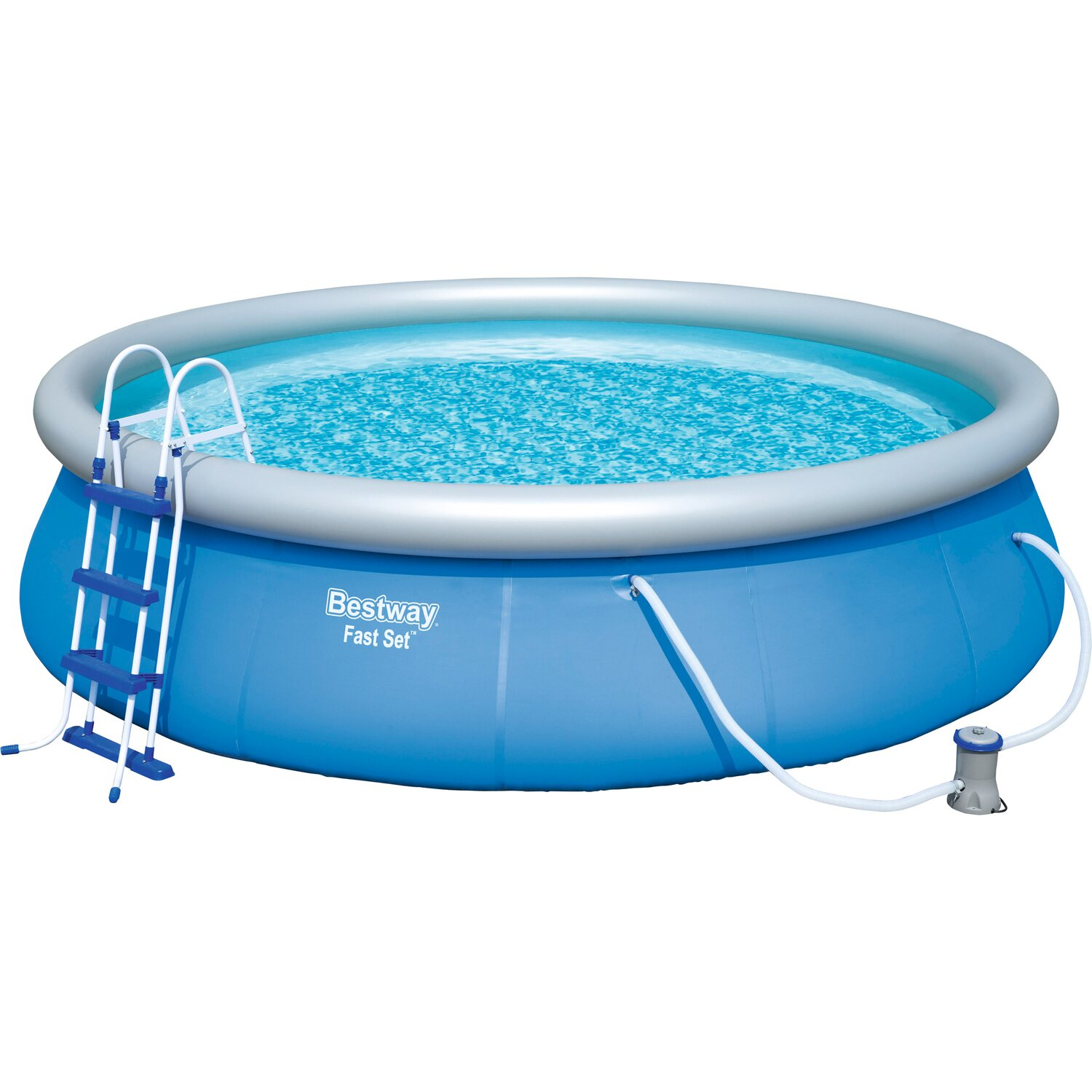 Bestway fast set pool kaufen bei obi for Pool staubsauger obi
