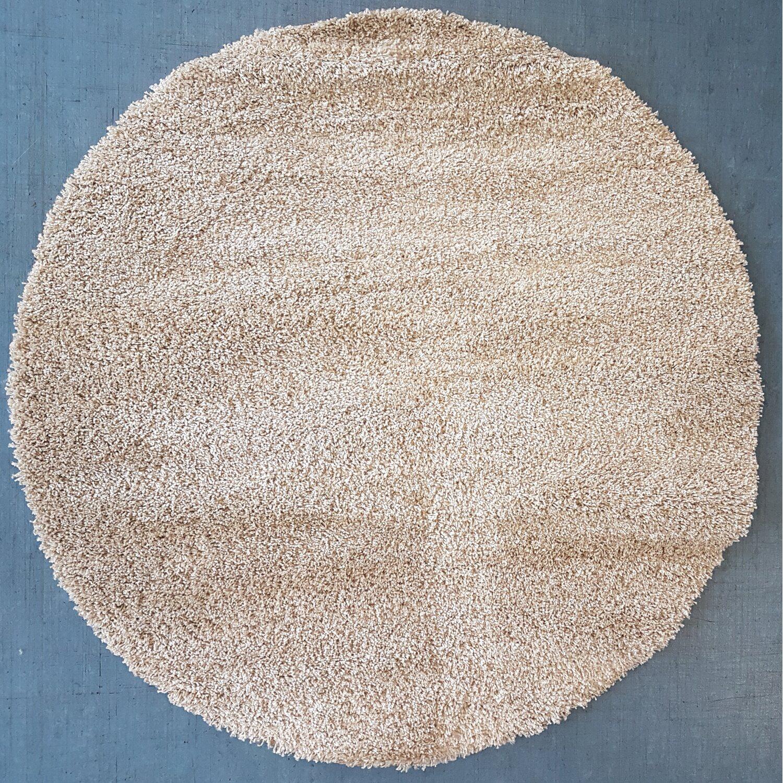 Teppich Noblesse Rund 160 Cm Beige Kaufen Bei Obi