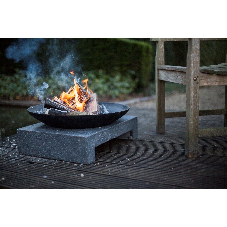 Feuerschale granito rechteckig kaufen bei obi for Planschbecken rechteckig obi