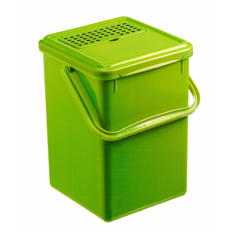 Rotho Komposteimer Bio Grün 8 l mit Aktivkohlefilter kaufen bei OBI