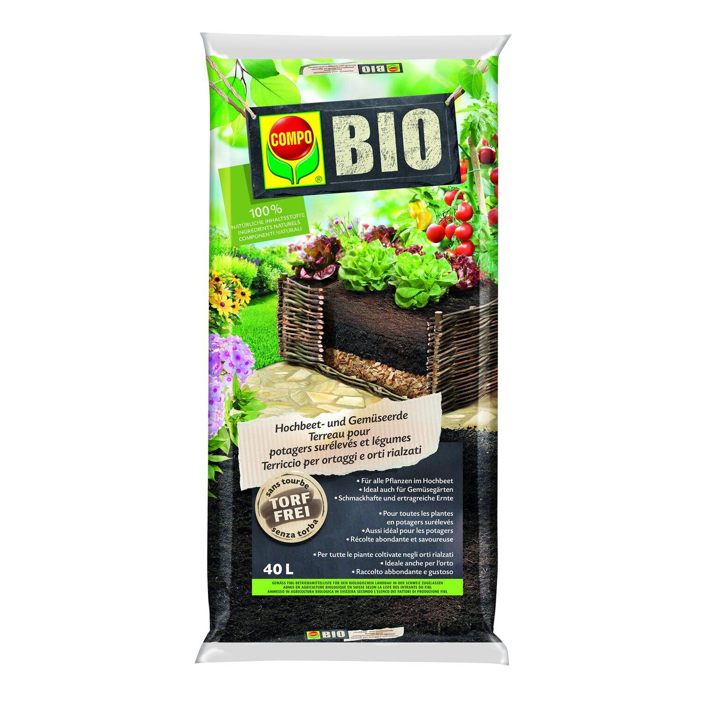 Bio Erde Kaufen : compo bio hochbeet und gem seerde 40 l kaufen bei obi ~ Watch28wear.com Haus und Dekorationen