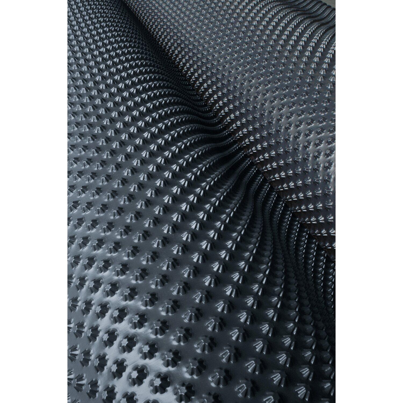 guttabeta star noppenbahn schwarz 100 cm breit kaufen bei obi. Black Bedroom Furniture Sets. Home Design Ideas