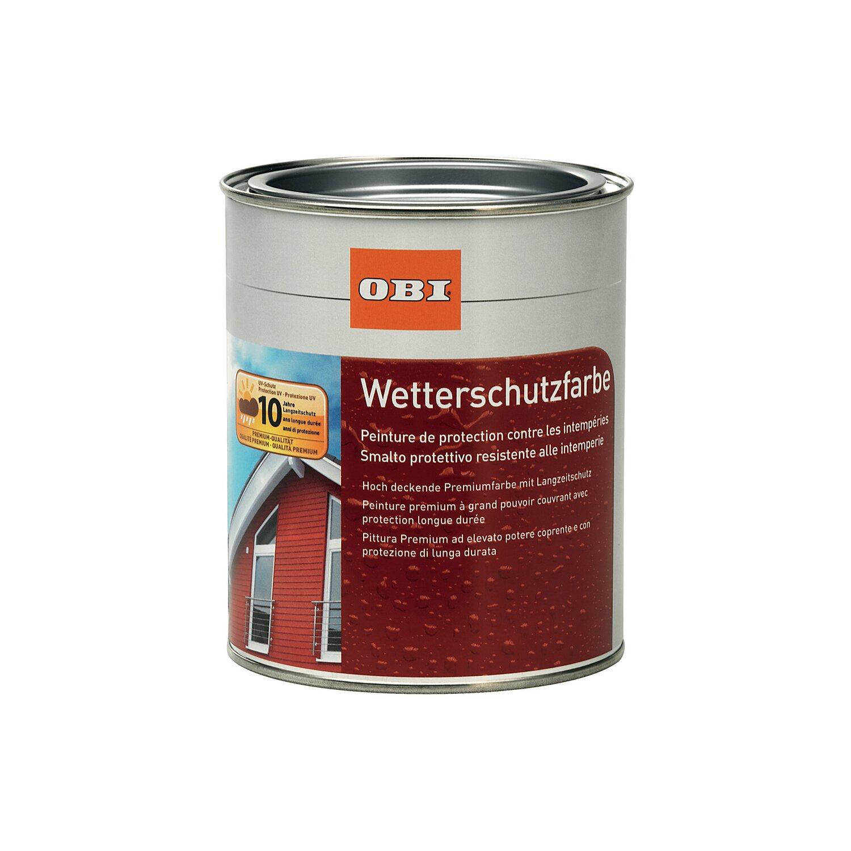 Top OBI Wetterschutzfarbe 750 ml Anthrazit kaufen bei OBI VU82