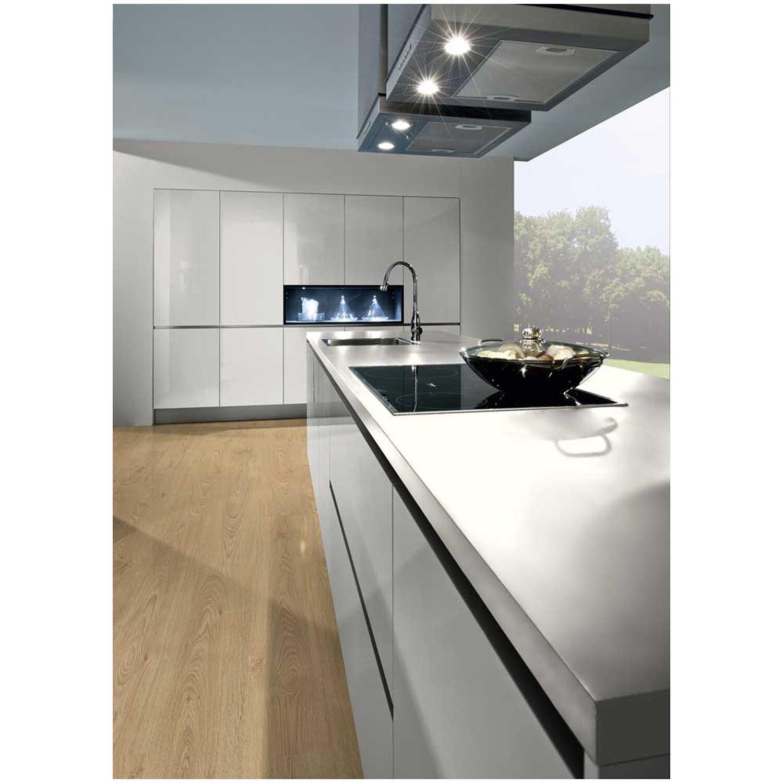 arbeitsplatte kristallweiss 4 39 100 mm x 635 mm x 28 mm kaufen bei obi. Black Bedroom Furniture Sets. Home Design Ideas