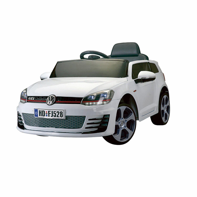 kinder elektroauto vw golf gti lizensiert weiss kaufen bei obi. Black Bedroom Furniture Sets. Home Design Ideas