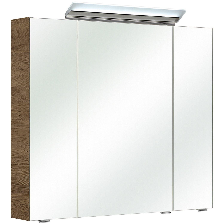 Pelipal spiegelschrank 343 sanremo eiche 80 cm kaufen bei obi - Spiegelschrank obi ...