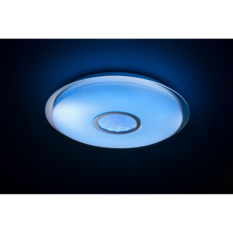 Action by Wofi LED-Deckenleuchte EEK: A Dorp 38 W Weiss 1-flammig ...