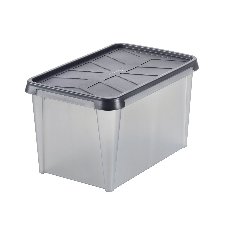 aufbewahrungsbox smartstore drybox 45 semi transparent. Black Bedroom Furniture Sets. Home Design Ideas