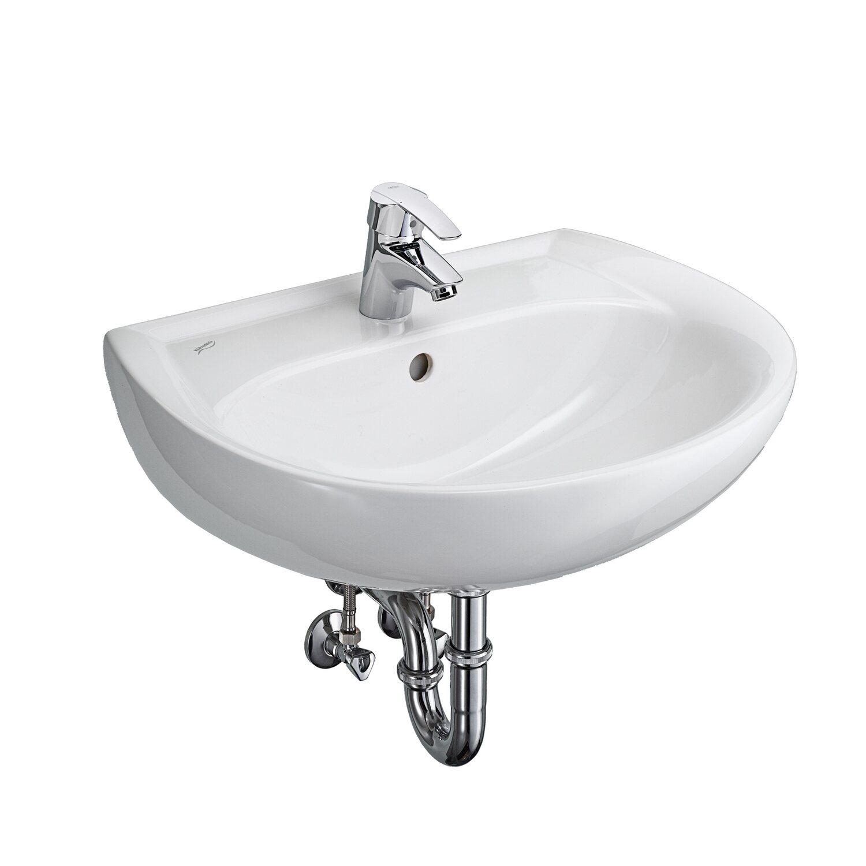 Turbo Keramag Waschbecken Renova Nr. 1 60 cm mit Armatur Weiss kaufen MY61