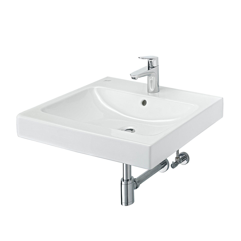 Keramag waschbecken icon 60 cm mit armatur weiss kaufen bei obi - Keramag waschbecken icon ...