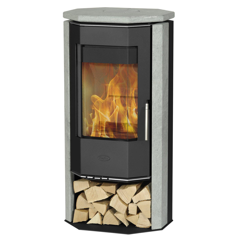 fireplace kaminofen karthago novo 2 speckstein schwarz kaufen bei obi. Black Bedroom Furniture Sets. Home Design Ideas