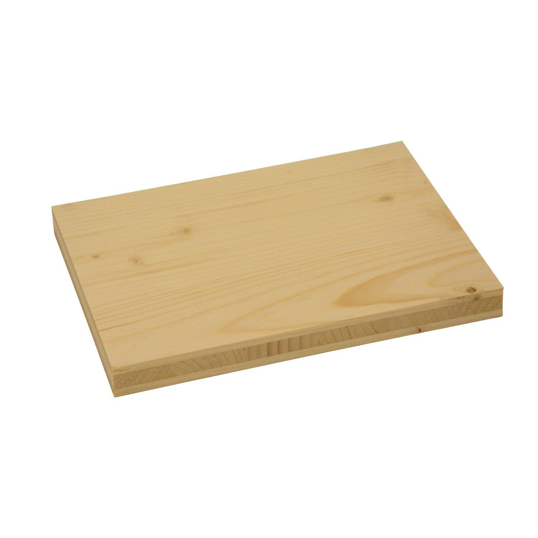 massivholzplatte 3 schicht fichte b c fsc 19 mm kaufen bei obi. Black Bedroom Furniture Sets. Home Design Ideas