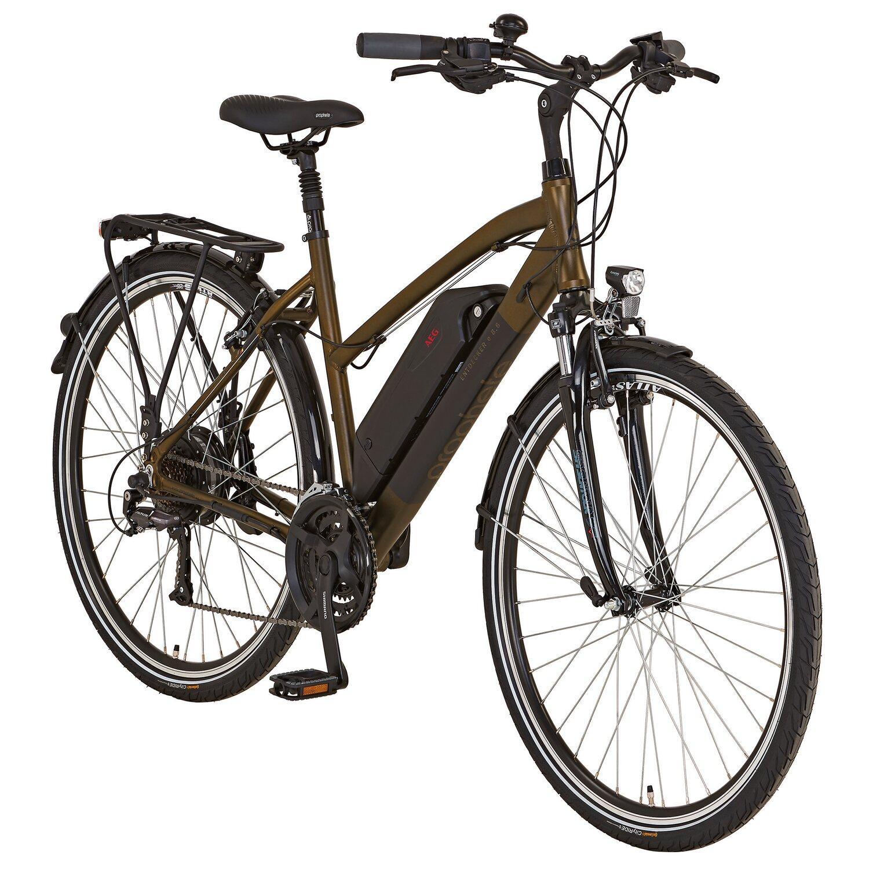 prophete alu trekking e bike entdecker e8 6 damen 28. Black Bedroom Furniture Sets. Home Design Ideas