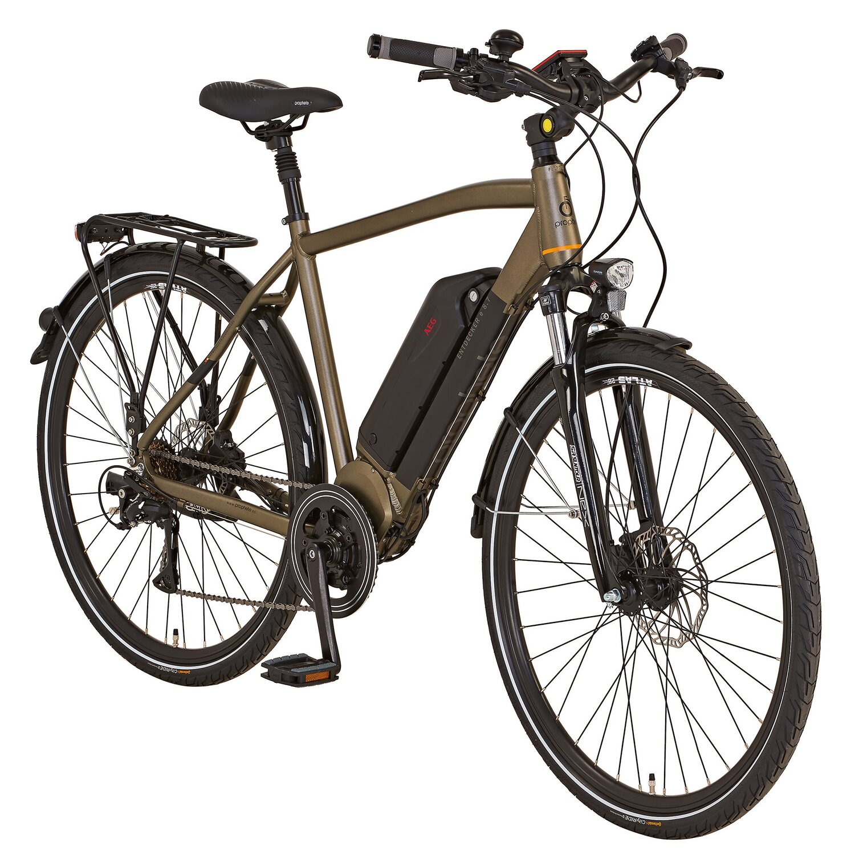 prophete alu trekking e bike entdecker e8 7 herren 28. Black Bedroom Furniture Sets. Home Design Ideas