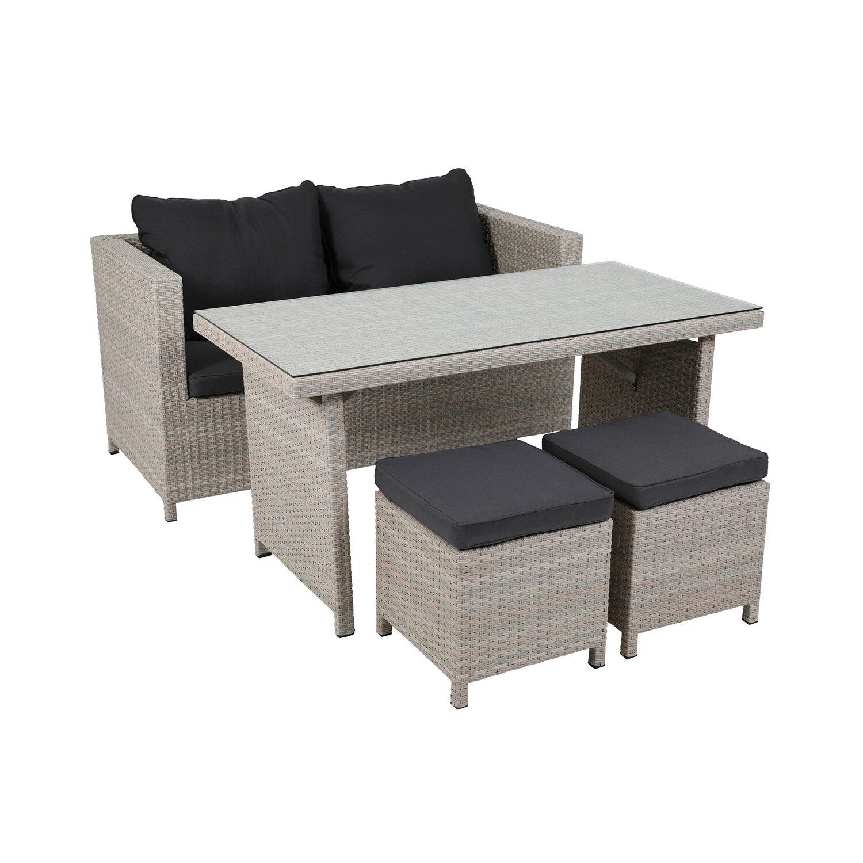 greemotion lounge set kiel kaufen bei obi. Black Bedroom Furniture Sets. Home Design Ideas