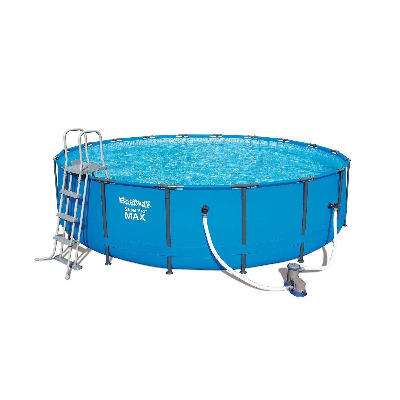 Bestway steel pro max frame pool 549 x 122 cm kaufen bei obi for Bestway obi