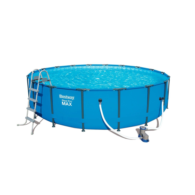 Bestway Steel Pro Max Frame Pool 549 X 122 Cm Kaufen Bei Obi