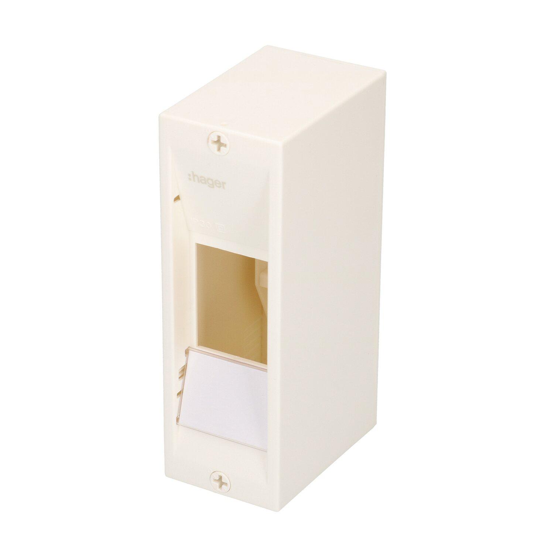hager ap kleinverteiler ip30 weiss kaufen bei obi. Black Bedroom Furniture Sets. Home Design Ideas