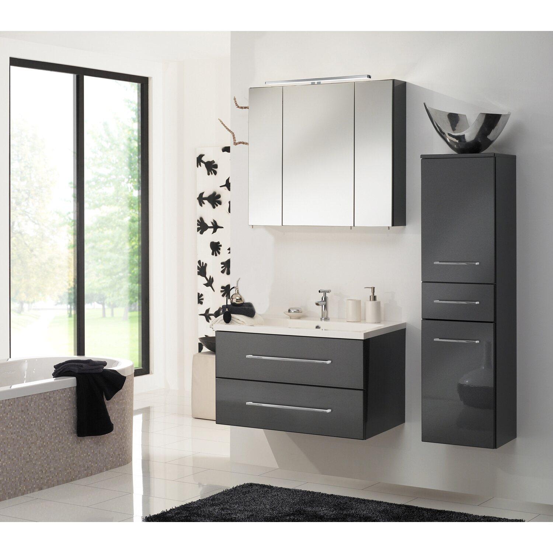 dansani badm bel set rameo anthrazit 80 cm kaufen bei obi. Black Bedroom Furniture Sets. Home Design Ideas