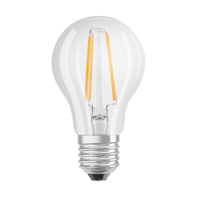 osram led lampe base eek a gl hlampenform e27 7w 806lm warmweiss 5er kaufen bei obi. Black Bedroom Furniture Sets. Home Design Ideas