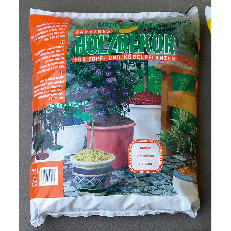 happygarden holzdekor orange 7 5 l kaufen bei obi. Black Bedroom Furniture Sets. Home Design Ideas