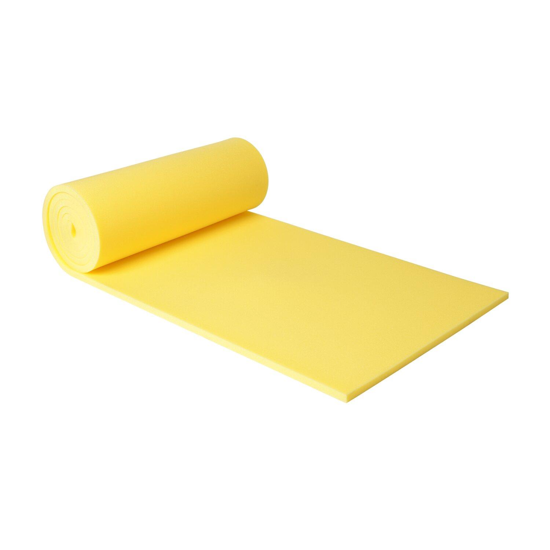 schaumstoff platten gelb 5 39 000 mm x 1 39 000 mm x 30 mm kaufen bei obi. Black Bedroom Furniture Sets. Home Design Ideas