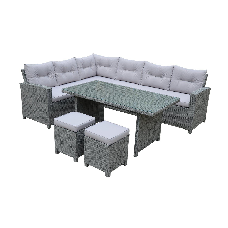 Lounge Set 5tlg Trentino