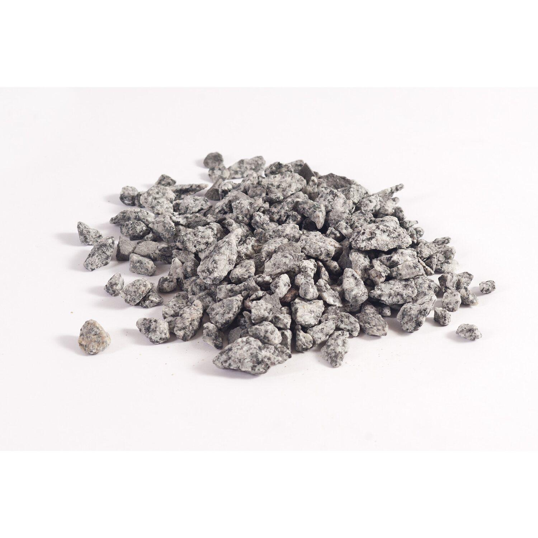 Granitsplitt 8 16 mm grau kaufen bei obi for Obi zierkies