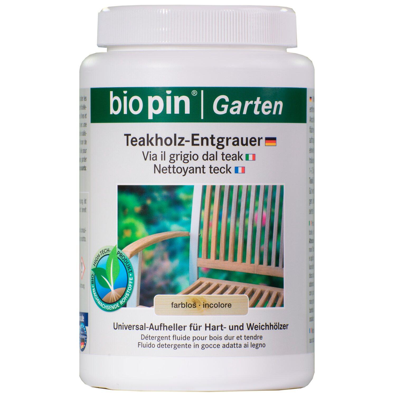 Sehr Biopin Teakholz-Entgrauer Transparent 1 l kaufen bei OBI IF63
