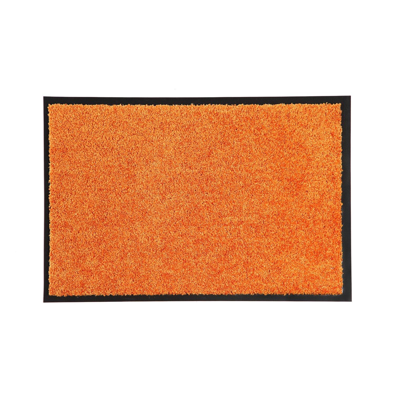 Schmutzfangmatte Wash schmutzfangmatte wash clean orange 60 cm x 40 cm orange kaufen bei obi