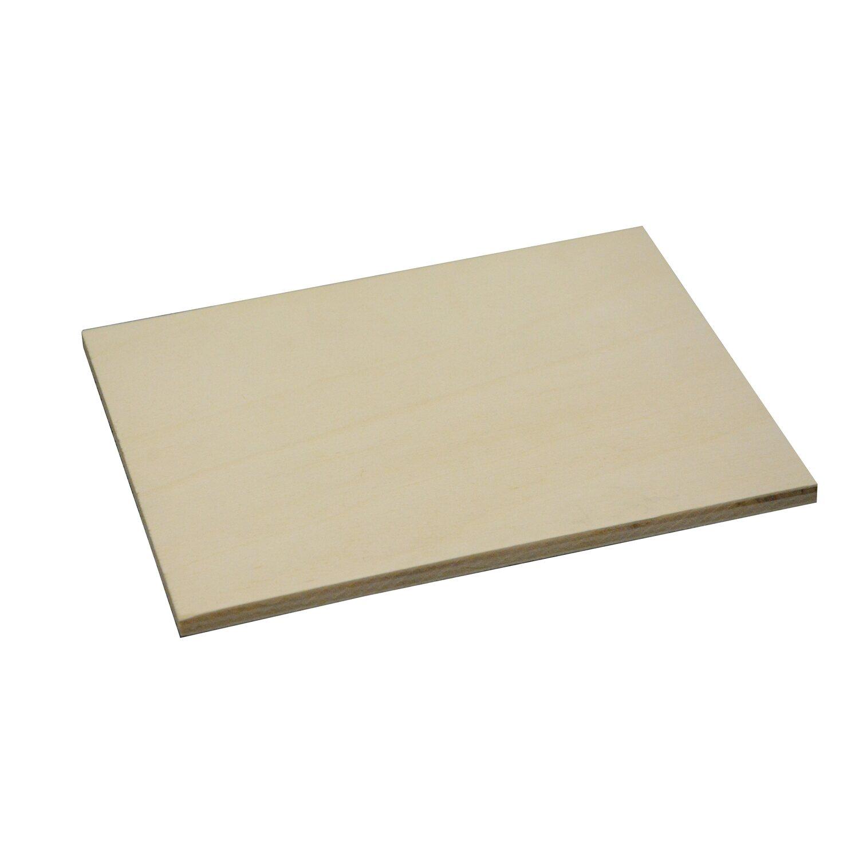 sperrholzplatte pappel a b fsc 600 mm x 600 mm x 10 mm kaufen bei obi. Black Bedroom Furniture Sets. Home Design Ideas