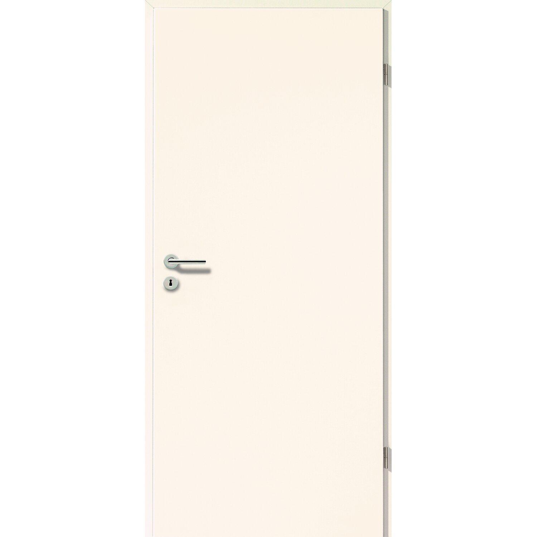 cpl zimmert r weiss seidenmatt uni 201 5 cm x 75 cm x 3 9 cm din links kaufen bei obi. Black Bedroom Furniture Sets. Home Design Ideas