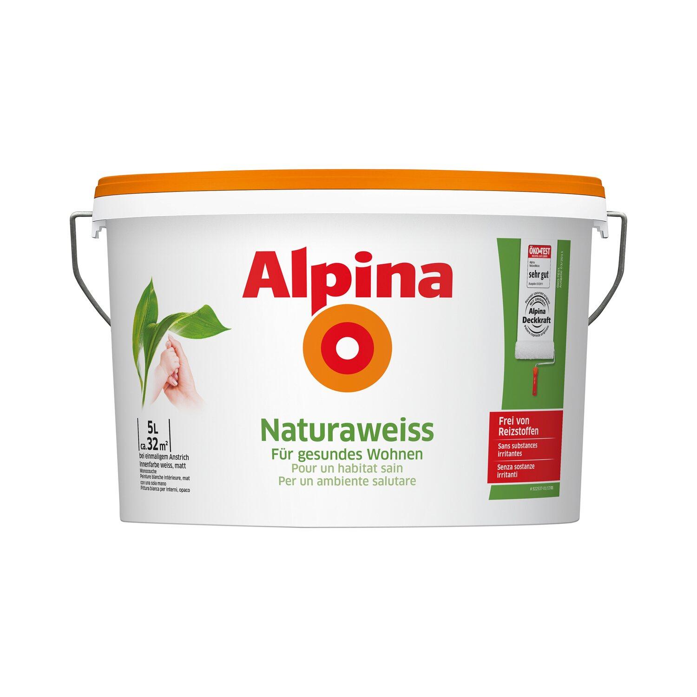 alpina natura weiss 5 l kaufen bei obi. Black Bedroom Furniture Sets. Home Design Ideas