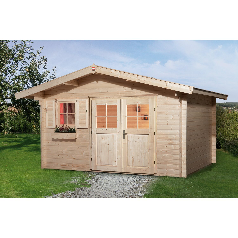 Weka gartenhaus 111 gr 1 kaufen bei obi for Vordach obi