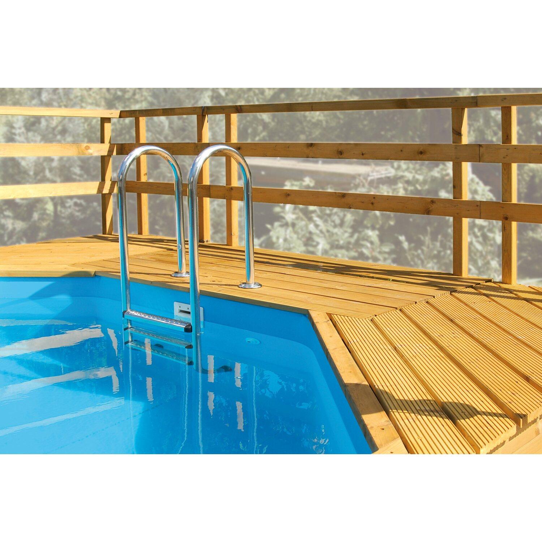 Weka massivholzpool 594 a kaufen bei obi for Swimming pool obi