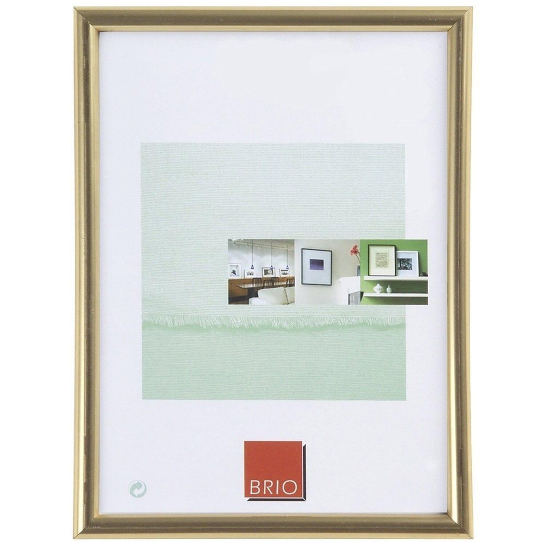 Kunststoffrahmen Gallery 50 cm x 70 cm Goldfarben kaufen bei OBI