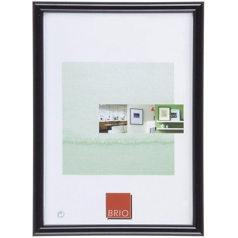 Kunststoffrahmen Gallery 60x80 cm schwarz
