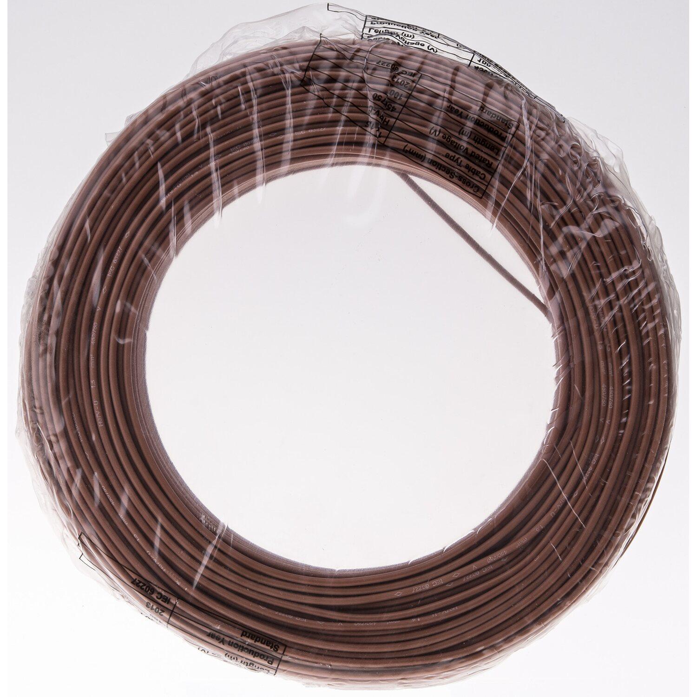 T-Draht 1,50 mm2 Braun 100 m kaufen bei OBI