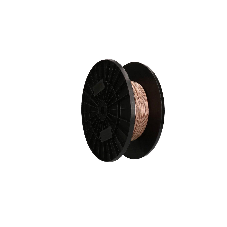 Lautsprecherkabel 2 x 1,50 mm2 Transparent Meterware kaufen bei OBI