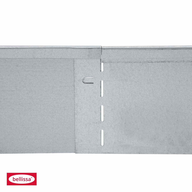 bellissa rasenkante verzinkt 118 cm x 12 5 cm kaufen bei obi. Black Bedroom Furniture Sets. Home Design Ideas